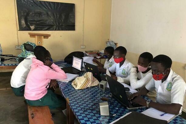 Students having self-learning